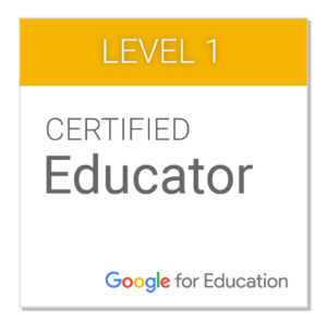 Sello Educador Certificado Google 1