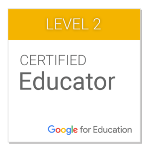 Sello Educador Certificado Google 2